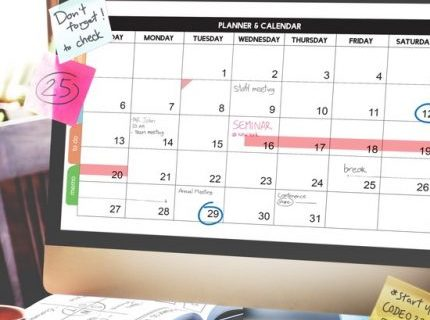 Calendar and planner