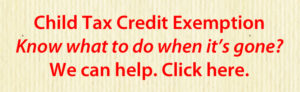 Child Tax Credit Exemption Know what to do?