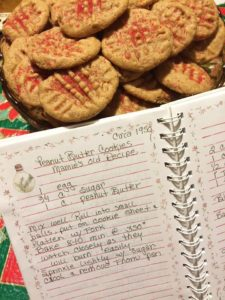 Peanut Butter Cookies and recipe